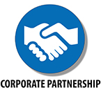 Corporate Partnership Button